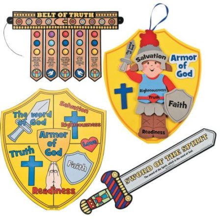 Armor of God for Kids, Full Armor of God crafts