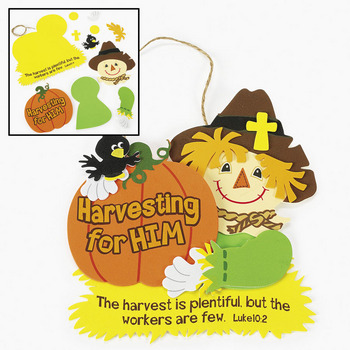 Christian fall craft ideas sunday school fall crafts for Harvest crafts for kids